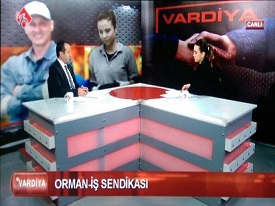 Gn.Sekr. Enver YAVUZ TV6 VARD�YA program�nda